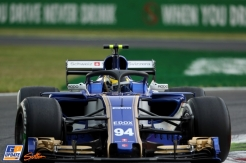 Pascal Wehrlein, Sauber F1 Team, C36, With Halo