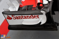 Front Wing End Plate for the Scuderia Ferrari SF70-H