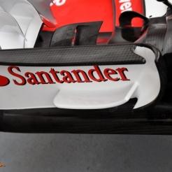 Front Wing End Plate for the Scuderia Ferrari SF70-H