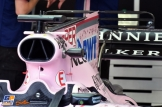 Engine Cover and Shark Fin with Wings for the Force India F1 Team VJM10