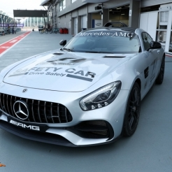 The Mercedes AMG F1 Safety Car