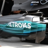 Body Work for the Mercedes AMG F1 Team F1 W08 Hybrid