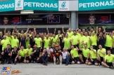 Christian Horner, Daniel Ricciardo, Max Verstappen, Dr. Helmut Marko and Red Bull Racing Celebrating