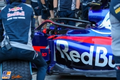 Detail for the Scuderia Toro Rosso STR12