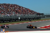 Max Verstappen (Red Bull Racing, RB13) and Esteban Ocon (Force India F1 Team, VJM10)