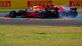 Max Verstappen (Red Bull Racing, RB13) and Sebastian Vettel (Scuderia Ferrari, SF70-H)