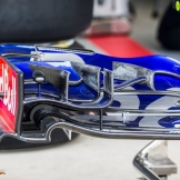 Front Wing End Plate for the Scuderia Toro Rosso STR12