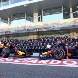 Daniel Ricciardo and Max Verstappen, Red Bull Racing, RB13