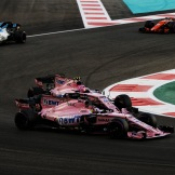 Sergio Pérez and Esteban Ocon, Force India F1 Team, VJM10