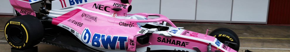 Force India F1 Team VJM11