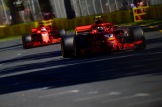 Kimi Räikkönen and Sebastian Vettel, Scuderia Ferrari, SF71H