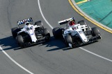 Charles Leclerc (Sauber F1 Team, C37) and Lance Stroll (Williams F1 Team, FW41)