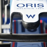 Detail of the Williams F1 Team FW41