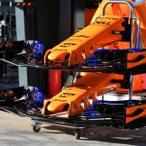 Front Wings for the McLaren Renault MCL33