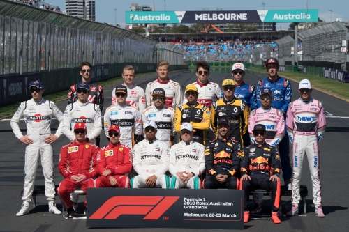 Standings Australian Grand Prix of 2018