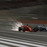Sebastian Vettel (Scuderia Ferrari, SF71H) and Lewis Hamilton (Mercedes AMG F1 Team, F1 W09 EQ Power)