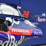A Detail of the Scuderia Toro Rosso STR13