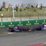 Pierre Gasly and Brandon Hartley, Scuderia Toro Rosso, STR13