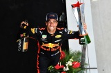 Daniel Ricciardo (Red Bull Racing) Celebrating his Victory
