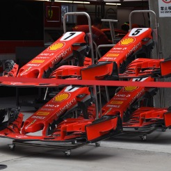 Front Wings for the Scuderia Ferrari SF71H