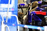Detail of the Scuderia Toro Rosso STR13