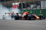 Max Verstappen and Daniel Ricciardo, Red Bull Racing, RB14