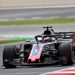 Romain Grosjean, Haas F1 Team, VF18