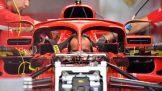 Mirrors on The Halo for the Scuderia Ferrari SF71H