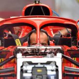 Mirrors on The Halo for the Scuderia Ferrari SF71H