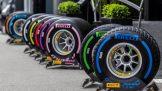 Various Pirelli Tyres