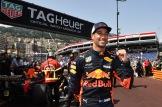 Daniel Ricciardo (Red Bull Racing) Celebrating his Pole Position
