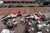 Charles Leclerc and Marcus Ericsson, Sauber F1 Team, C37
