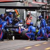 Pit Stop for Scuderia Toro Rosso