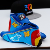 Racing Shoes for Fernando Alonso (McLaren Renault)
