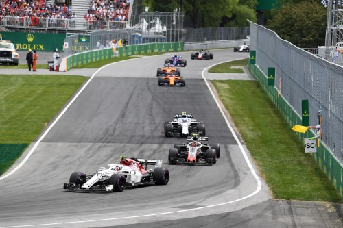 Standings Canadian Grand Prix of 2018