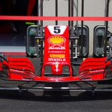 A Front Wing for the Scuderia Ferrari SF71H