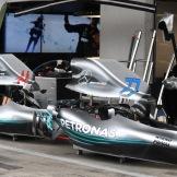 Body Work for the Mercedes AMG F1 Team F1 W09 EQ Power