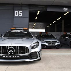 The F1 Safety and Medical Cars