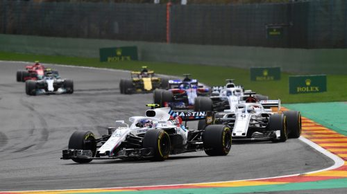 Standings Belgian Grand Prix of 2018