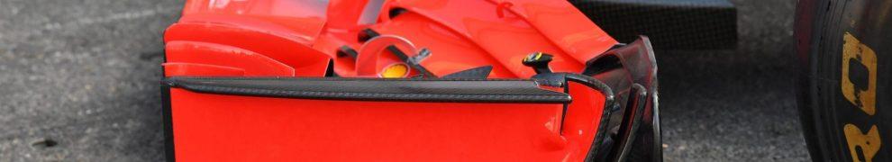 Detail for the Scuderia Ferrari SF71H