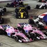 Esteban Ocon and Sergio Pérez, Racing Point Force India F1 Team, VJM11
