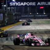 Sergio Pérez, Racing Point Force India F1 Team, VJM11