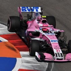 Esteban Ocon, Racing Point Force India F1 Team, VJM11