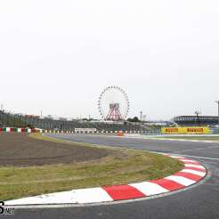 The Chicane before The Main Straight