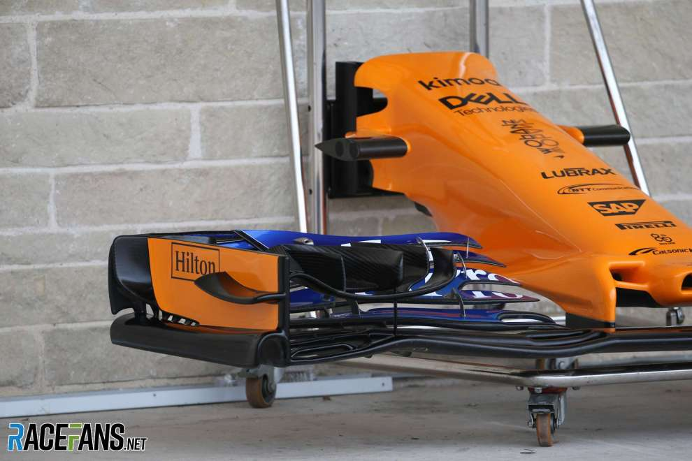 A Nose for the McLaren Renault MCL33