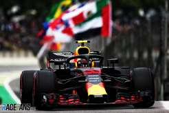 Max Verstappen, Red Bull Racing, RB14