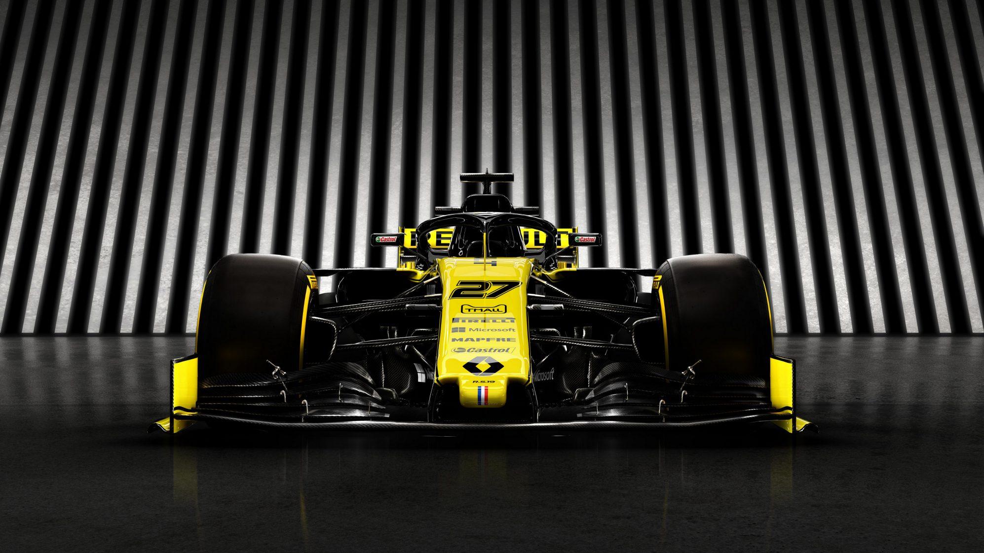 F1: Presentation Renault F1 Team R.S.19