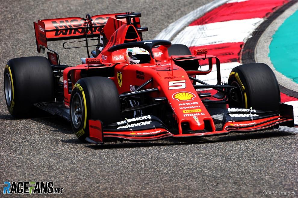 Sebastian Vettel, Scuderia Ferrari, SF72H