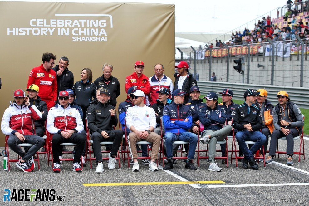 1000th F1 Race, Official Photograph
