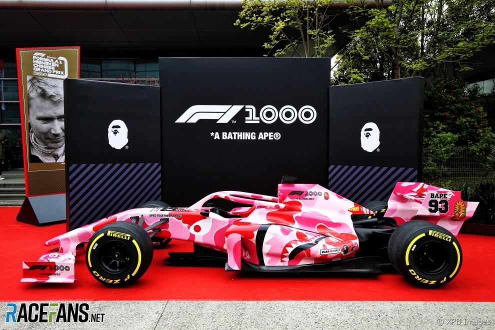 1000th Race, Race Car